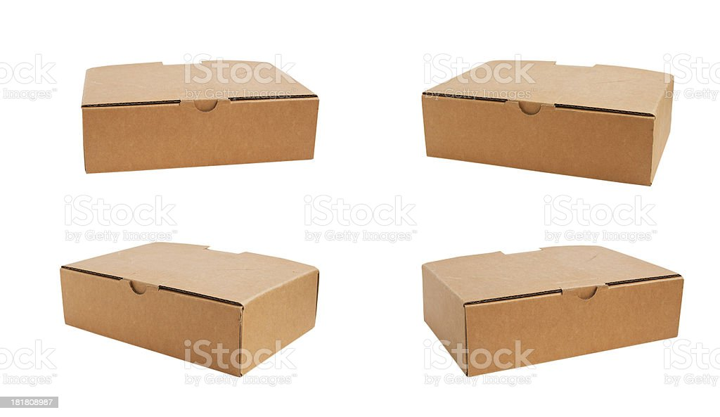 Paper boxes royalty-free stock photo