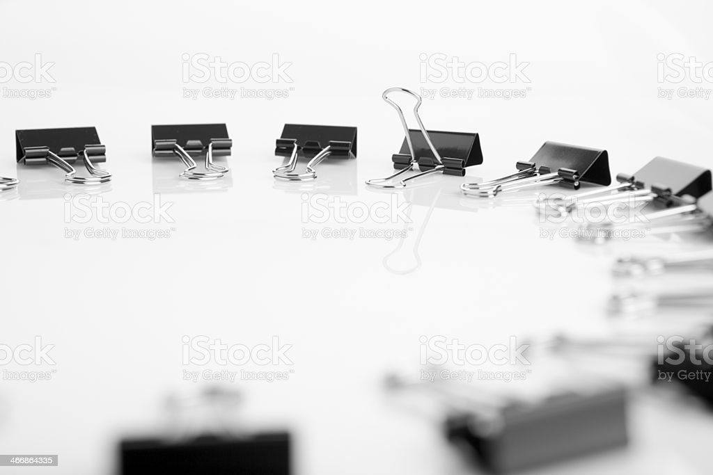 paper clips clamps royalty-free stock photo