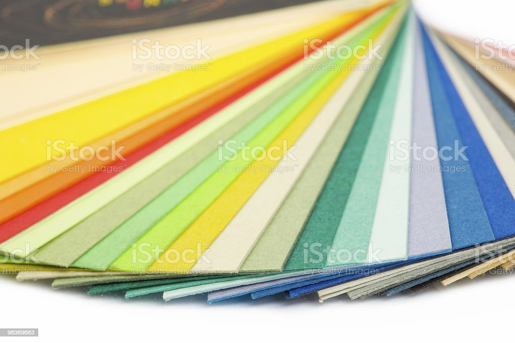 paper collection royalty-free stock photo