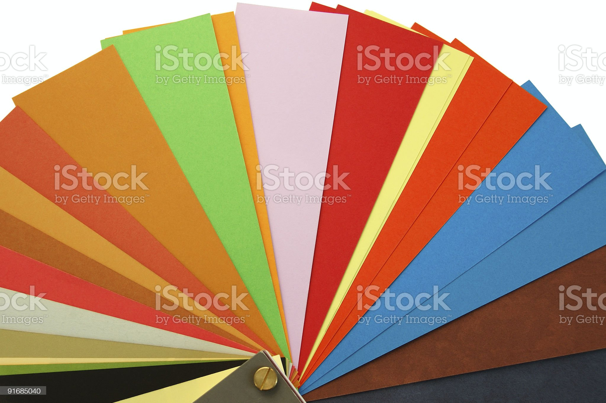 paper color samples royalty-free stock photo