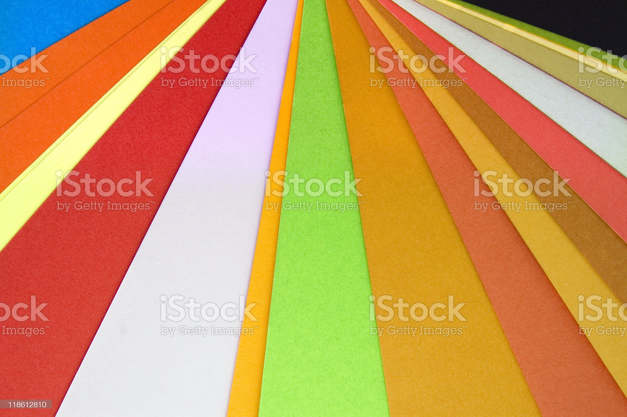 paper colors royalty-free stock photo
