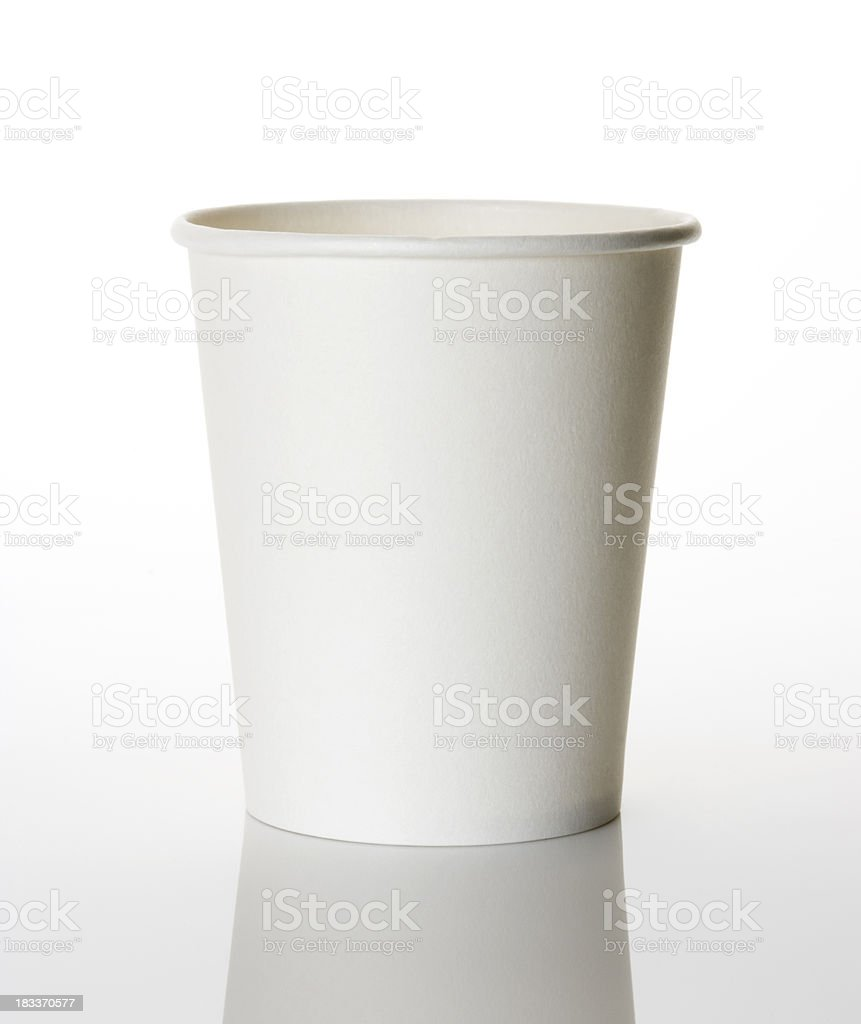Paper Cup royalty-free stock photo