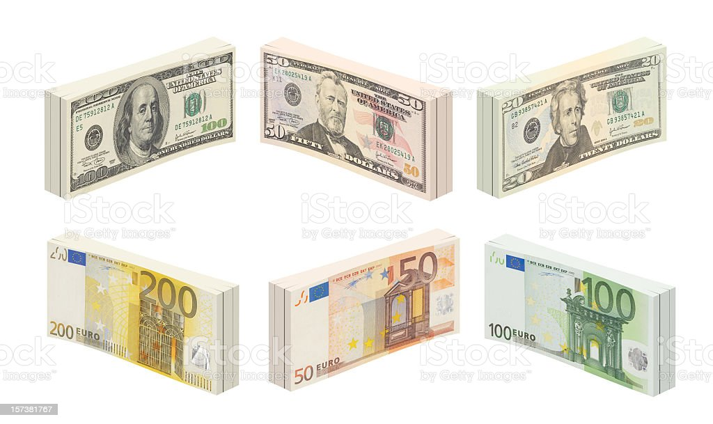 Paper currency royalty-free stock photo
