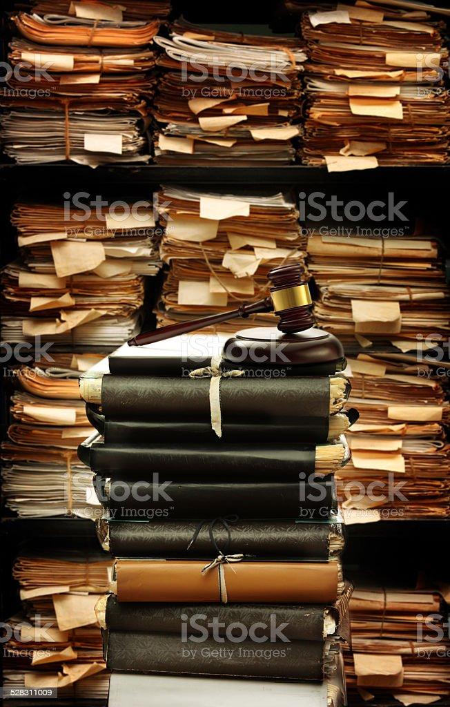 Paper documents stock photo