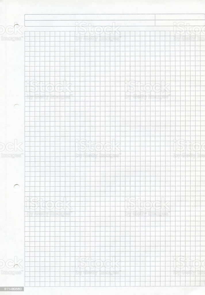 paper exercise book stock photo