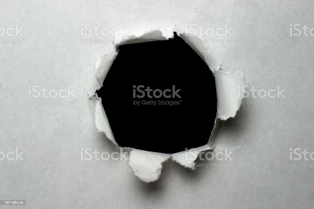 Paper Explosion stock photo