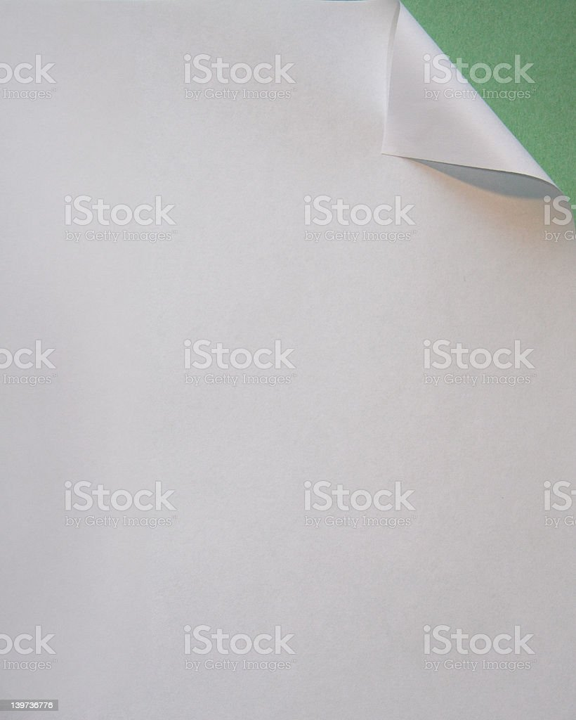 paper folded royalty-free stock photo