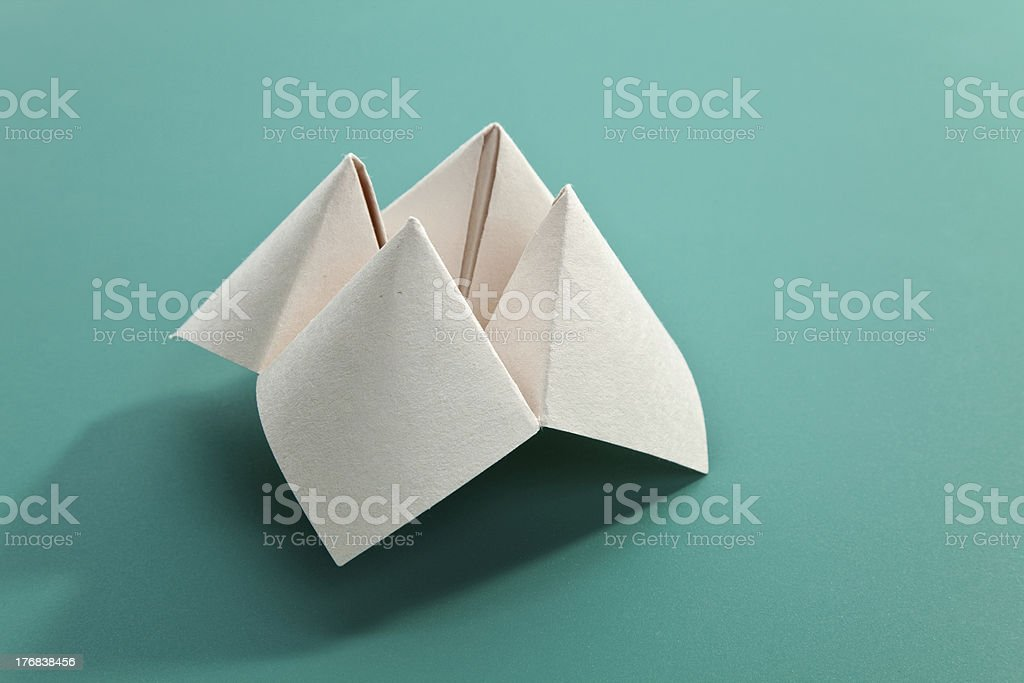 Paper Fortune Teller stock photo