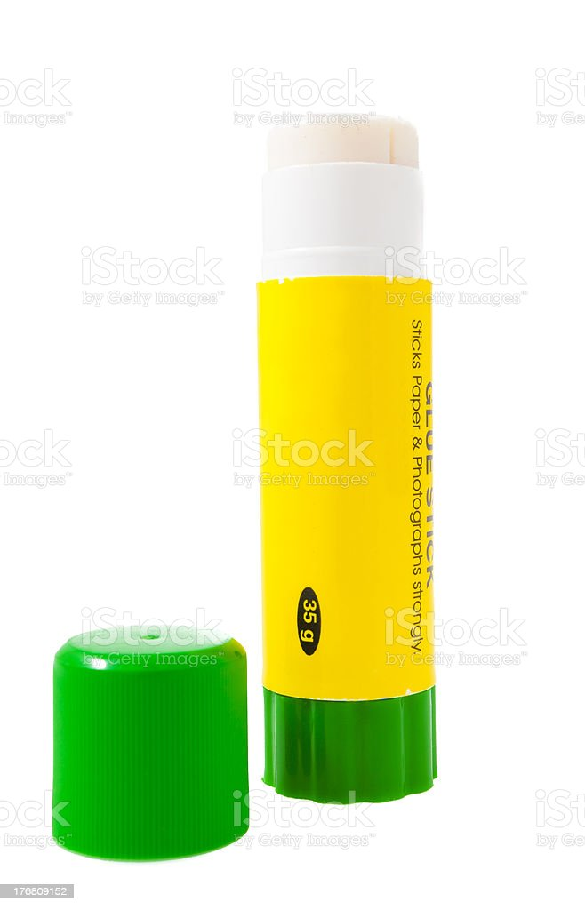 Paper glue stick royalty-free stock photo