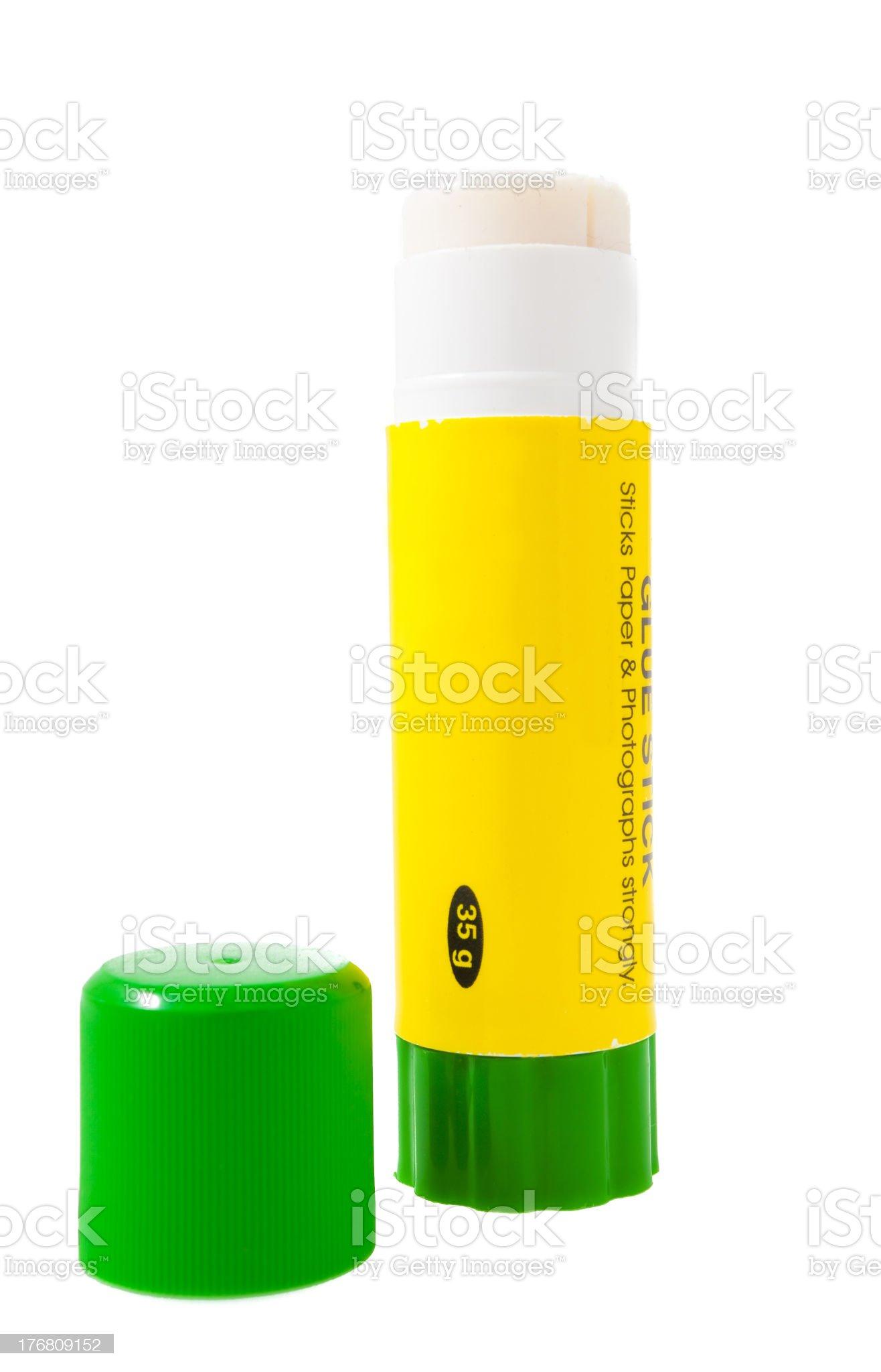 Paper glue stick royalty-free stock photo