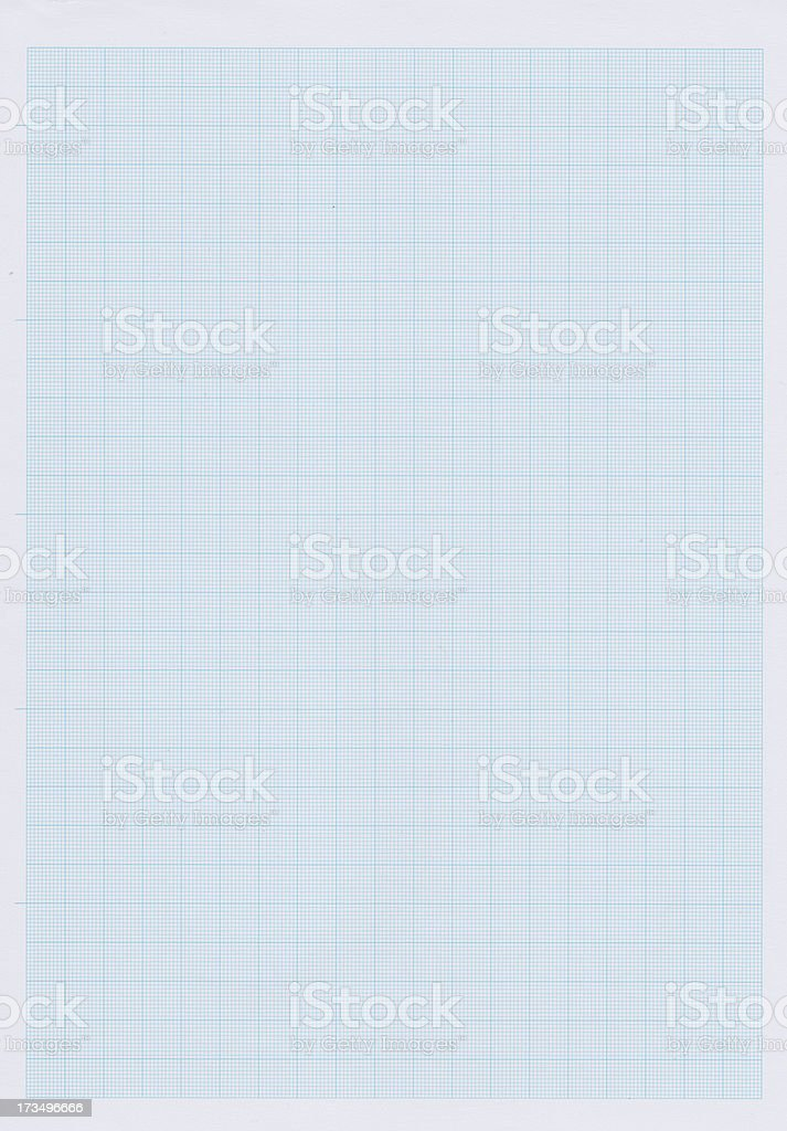 Paper graph royalty-free stock photo