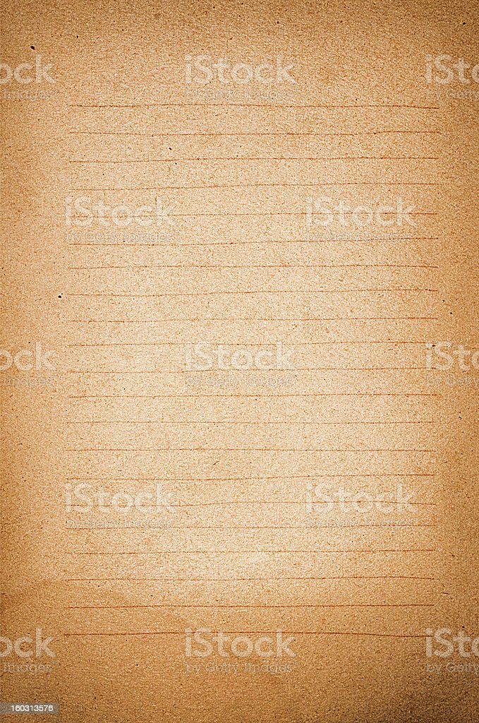 Paper grunge background for note royalty-free stock photo