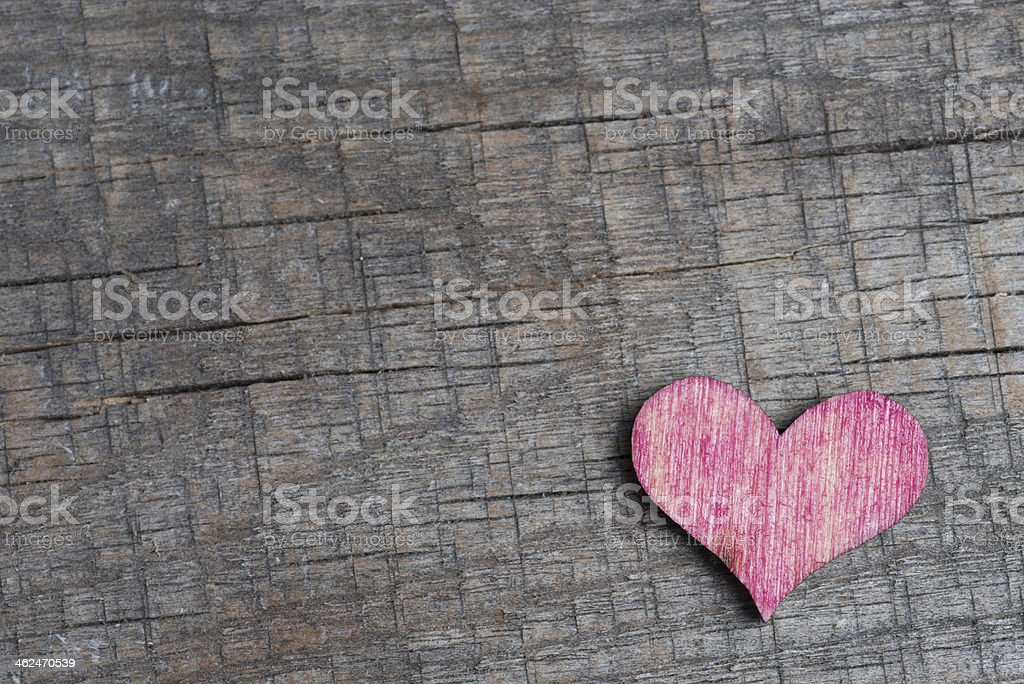 Paper heart royalty-free stock photo