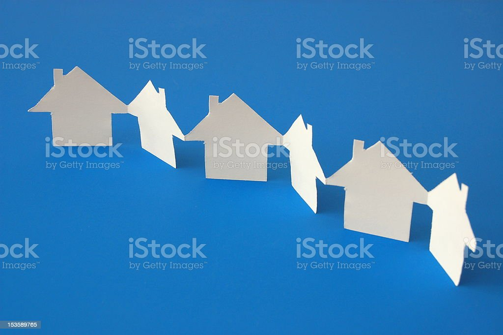 paper home royalty-free stock photo