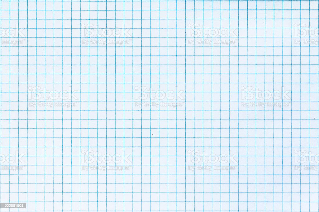 Paper in a cell stock photo