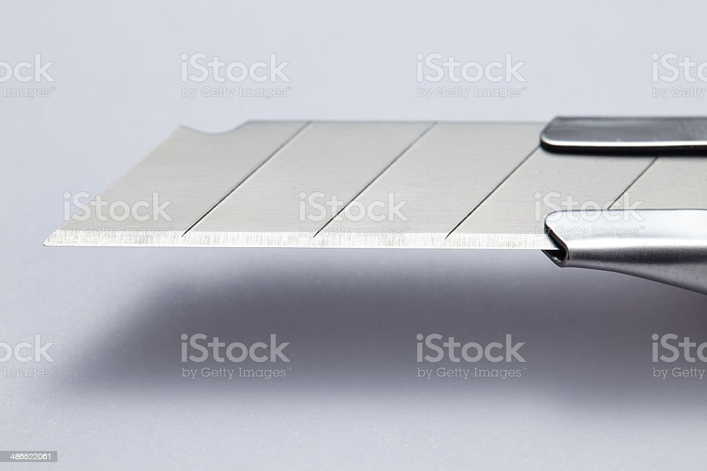 paper knife blade stock photo