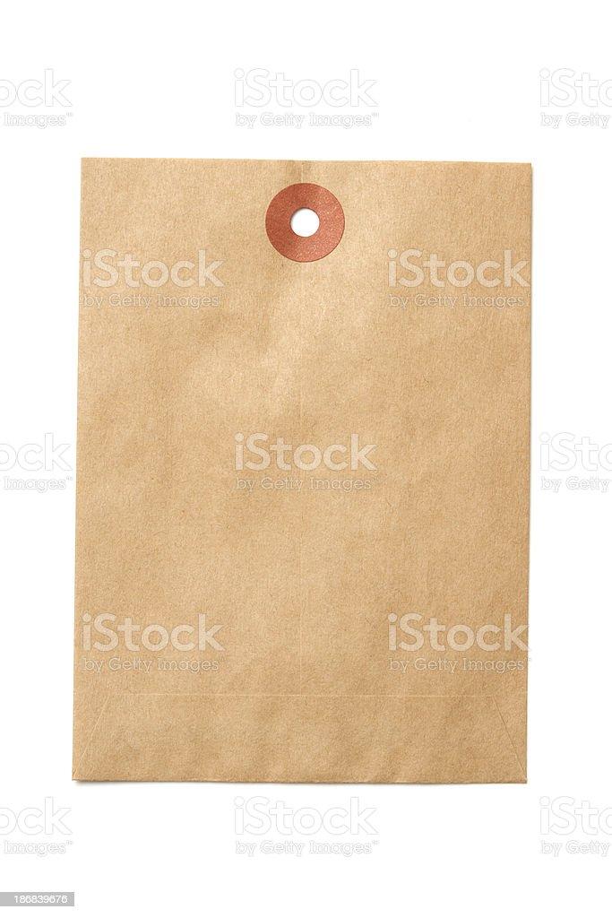 Paper Kraft Envelope royalty-free stock photo