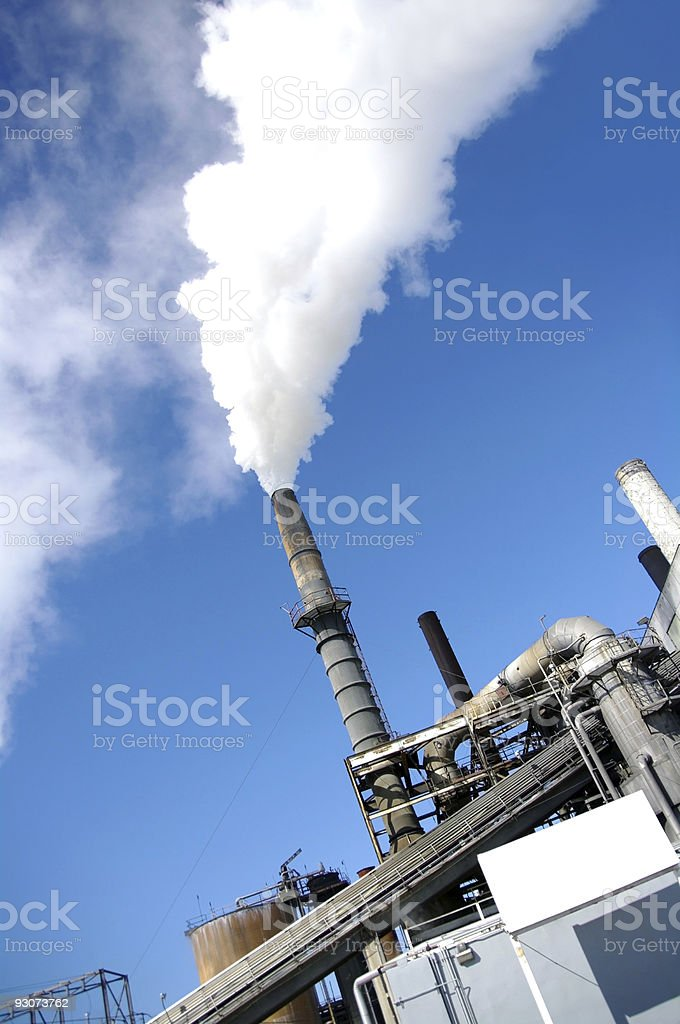 Paper Mill royalty-free stock photo