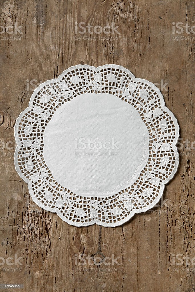 Paper napkin royalty-free stock photo