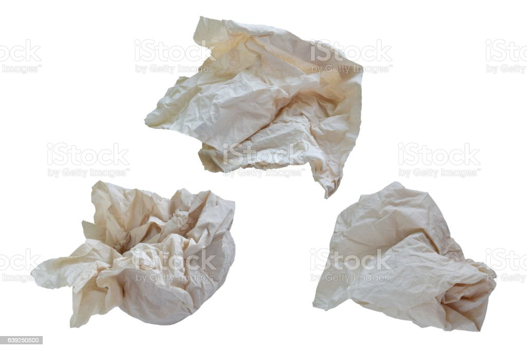 paper napkin stock photo