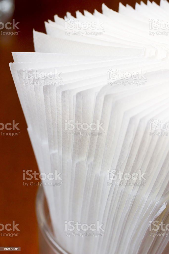 Paper Napkins royalty-free stock photo