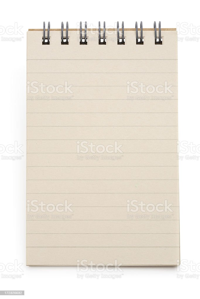 Paper Notepad royalty-free stock photo