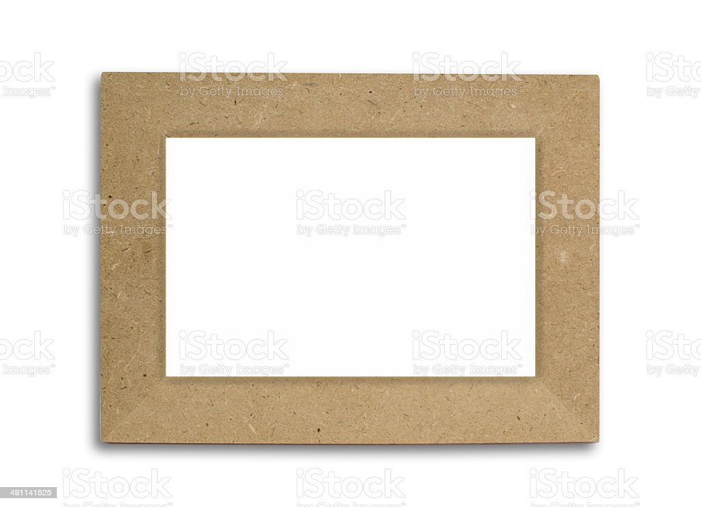 Paper picture frame royalty-free stock photo