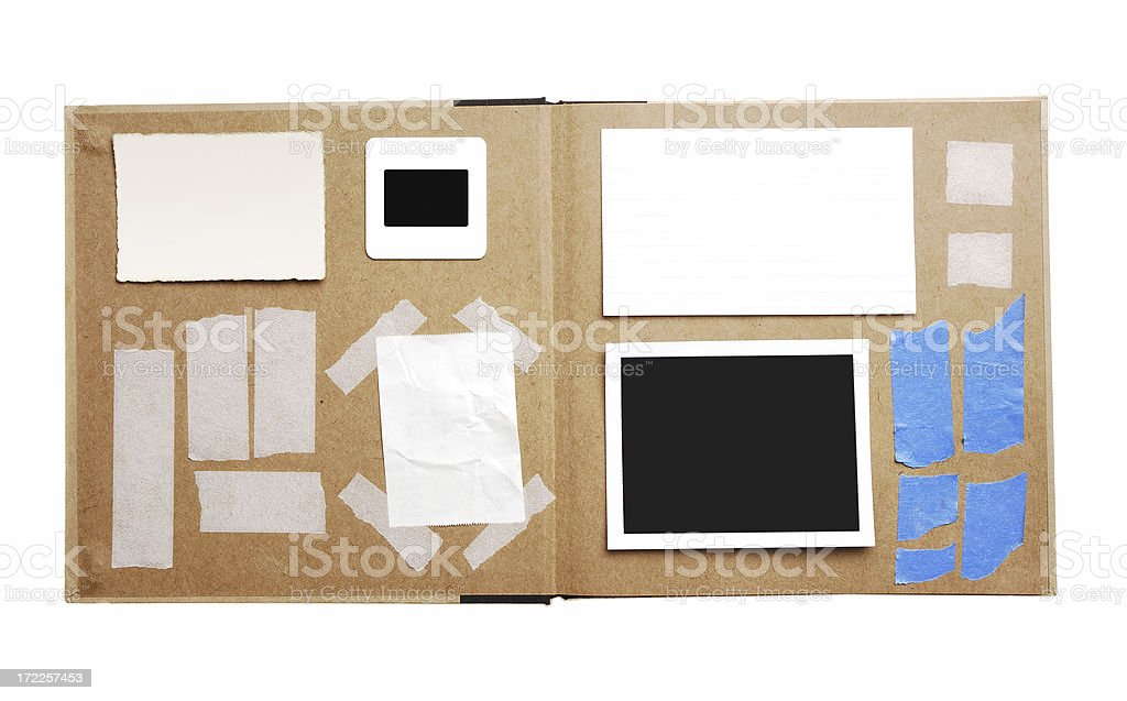 Paper Pieces stock photo