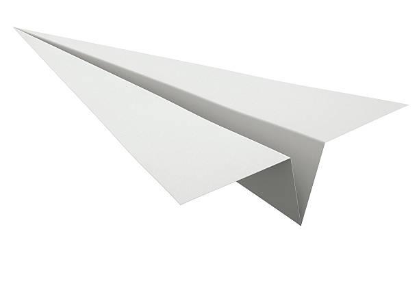 paper plane stock illustration - photo #7