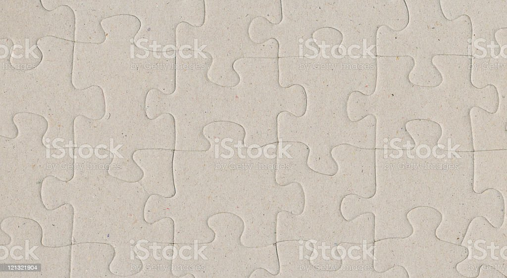 Paper Puzzle Background royalty-free stock photo