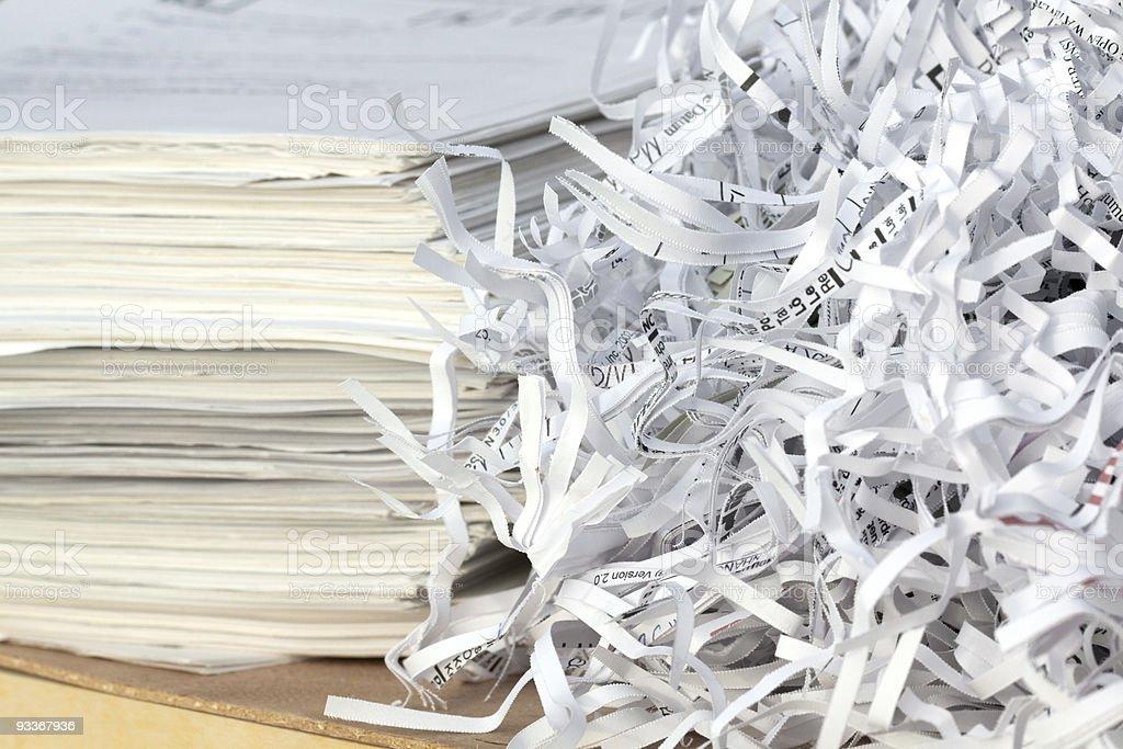 Reciclagem de papel foto de stock royalty-free
