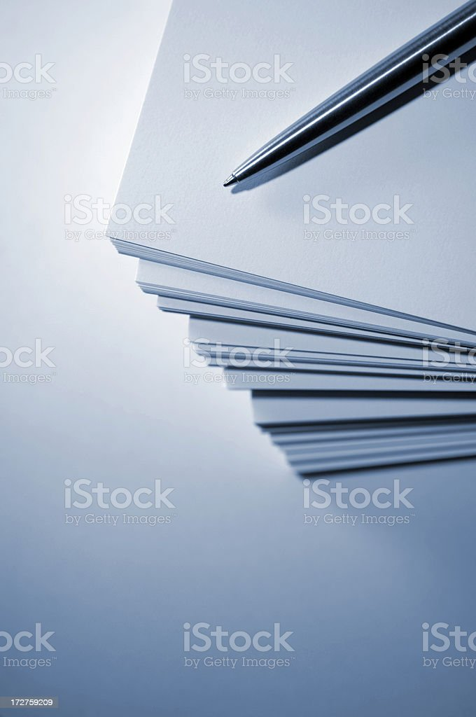 paper series royalty-free stock photo