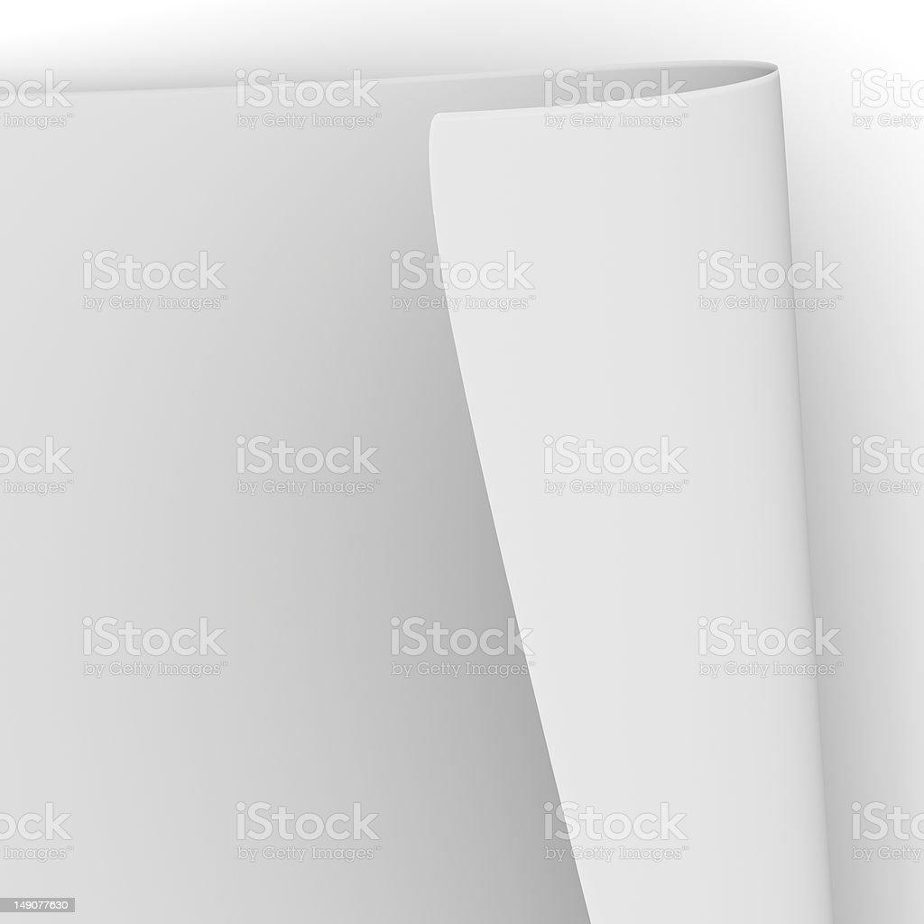 Paper sheet royalty-free stock photo