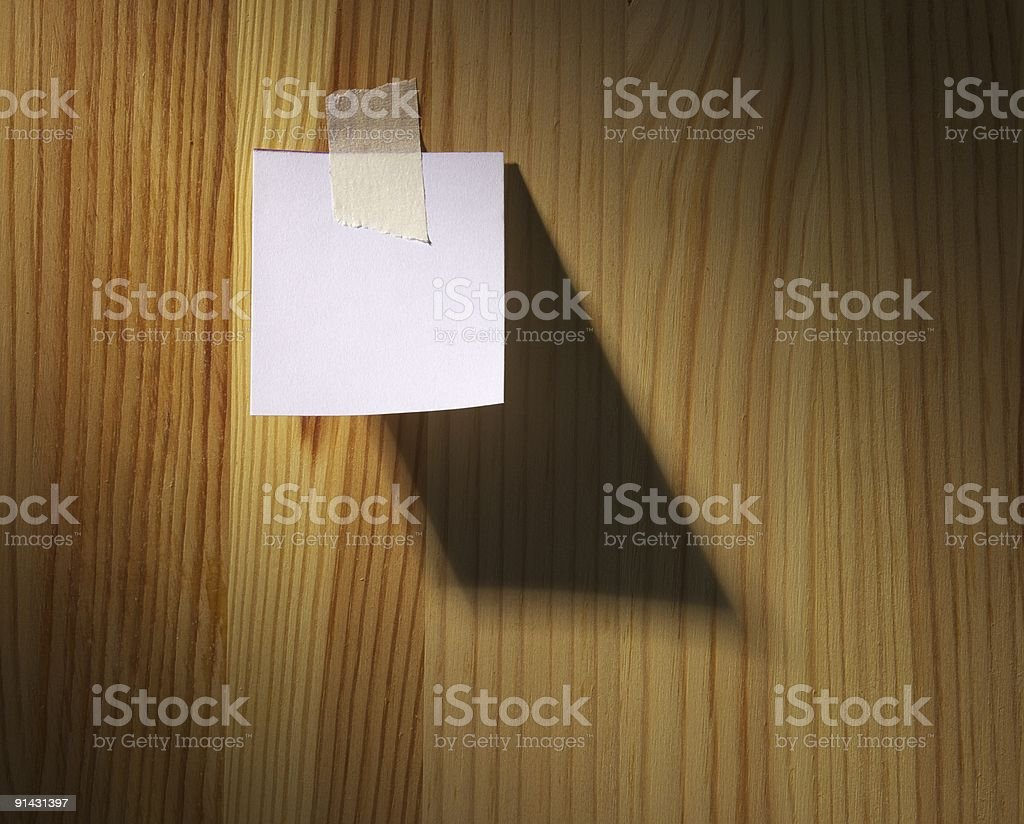 Paper sheet royalty-free stock photo