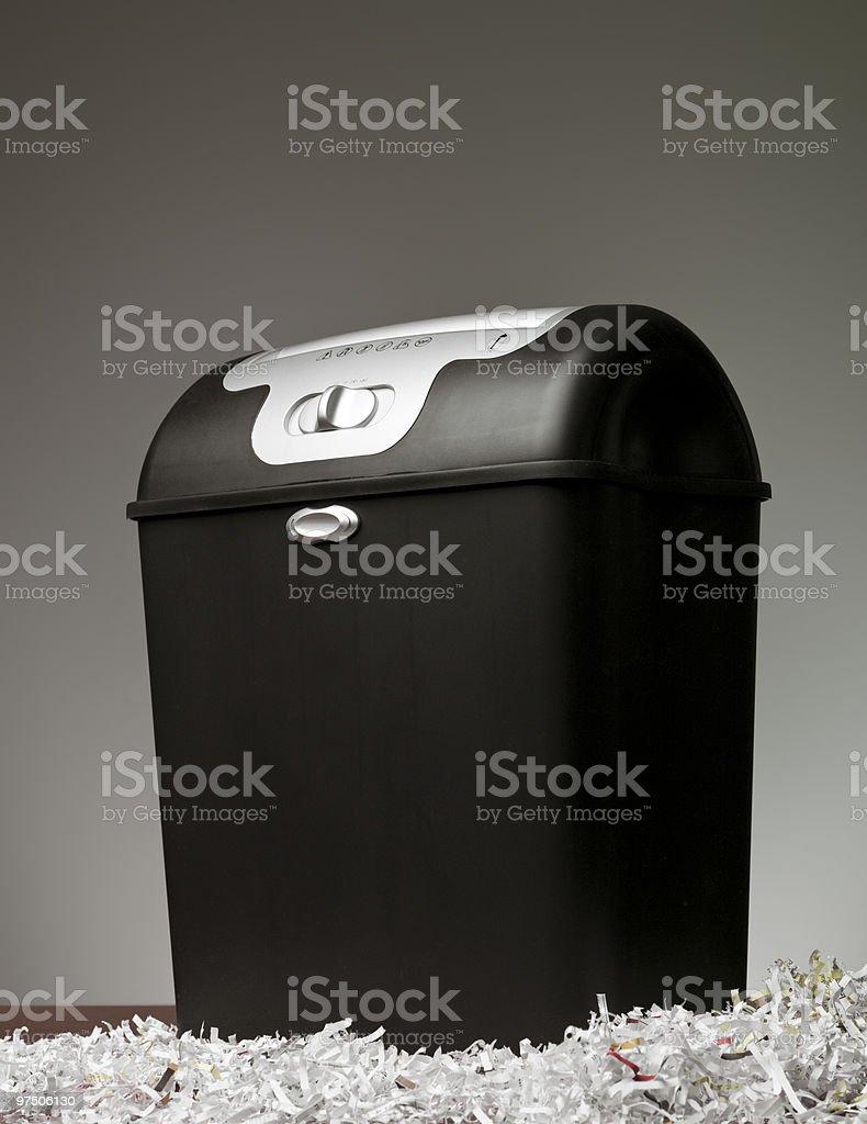 Paper Shredder stock photo