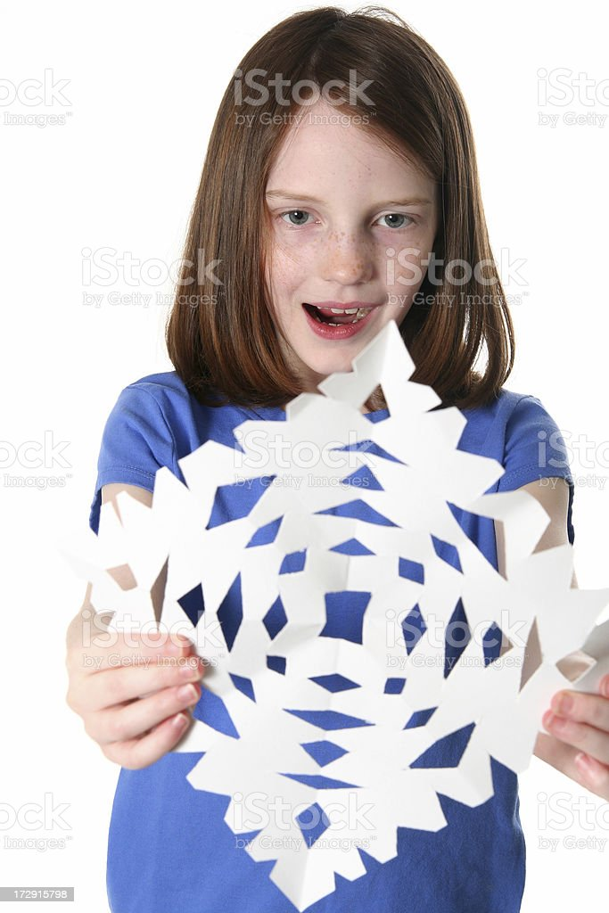 Paper Snowflake royalty-free stock photo