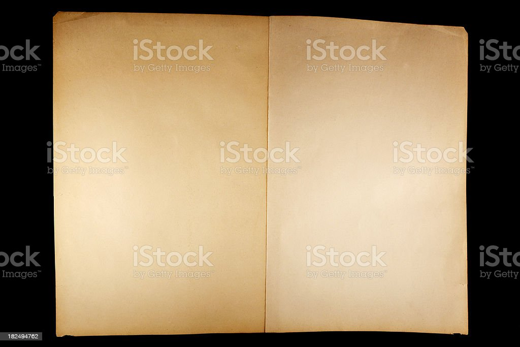 paper spread royalty-free stock photo