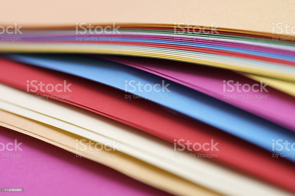 Paper Stack... royalty-free stock photo