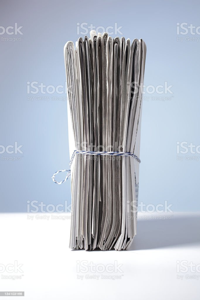 paper stack royalty-free stock photo