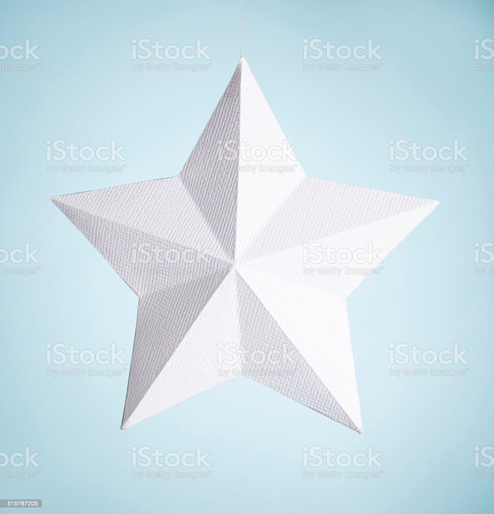 Paper Star stock photo