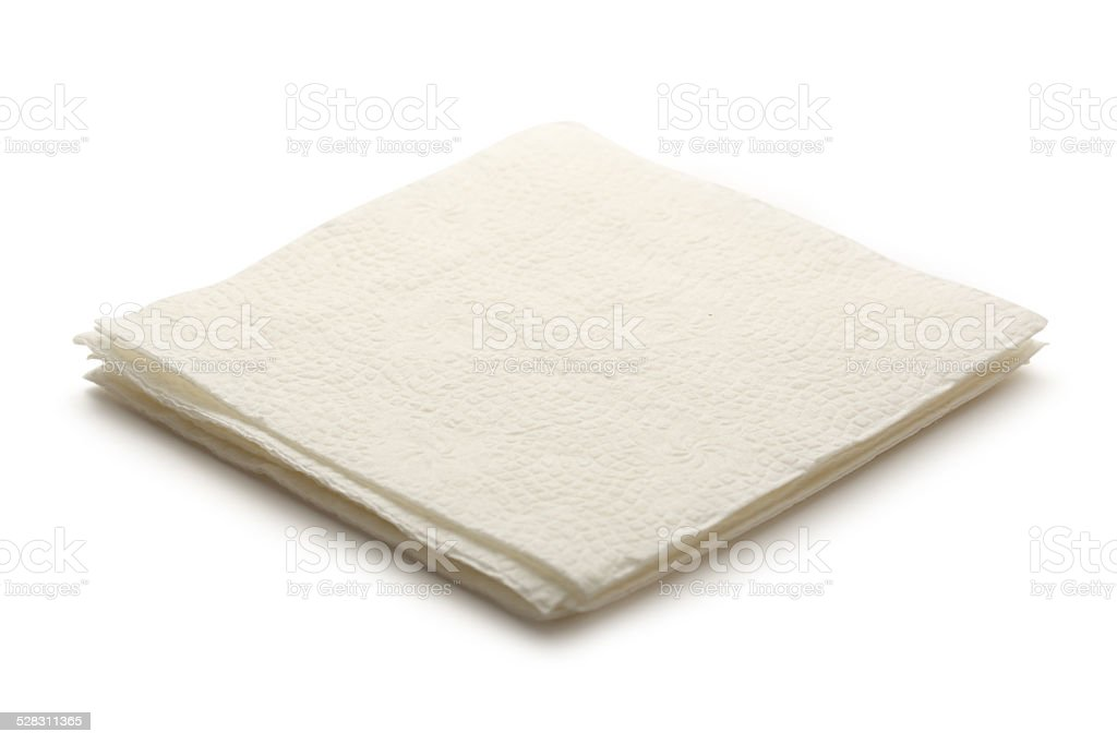 Paper table napkins stock photo