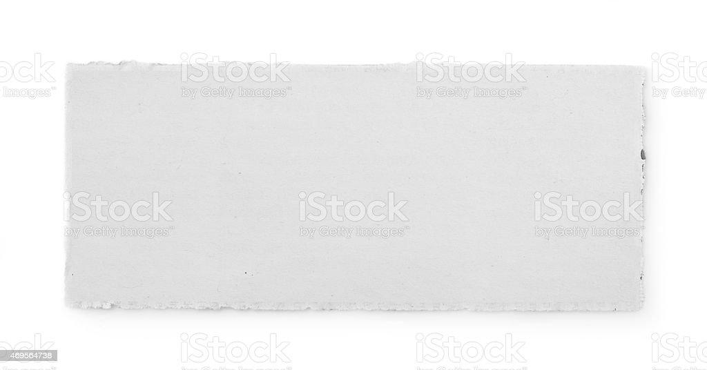 Paper tear stock photo