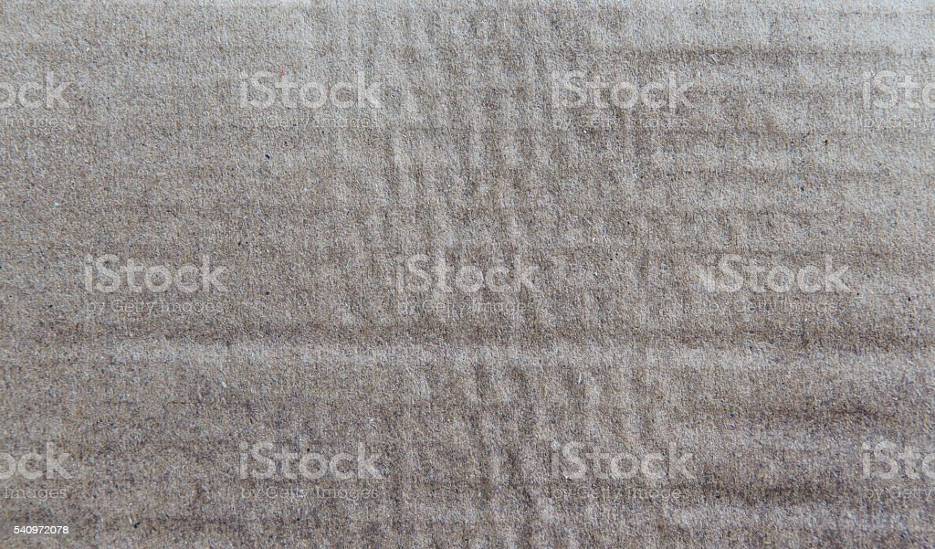 Paper texture - brown paper sheet. stock photo
