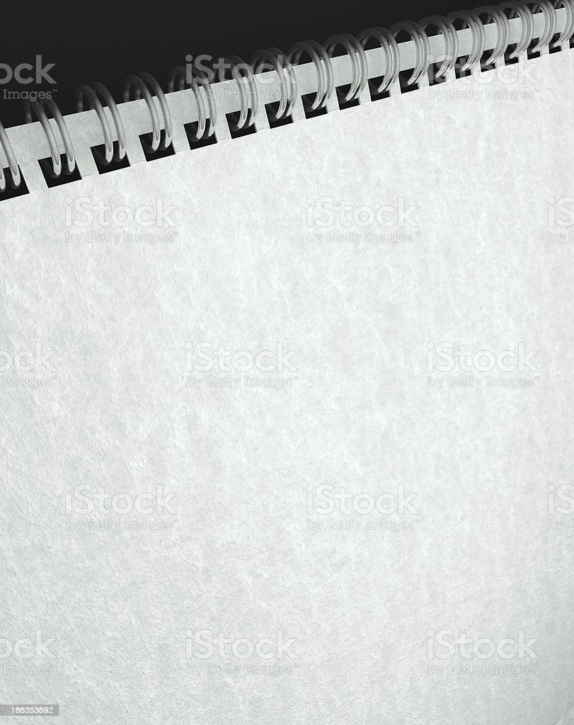 Paper texture in blank note book royalty-free stock photo