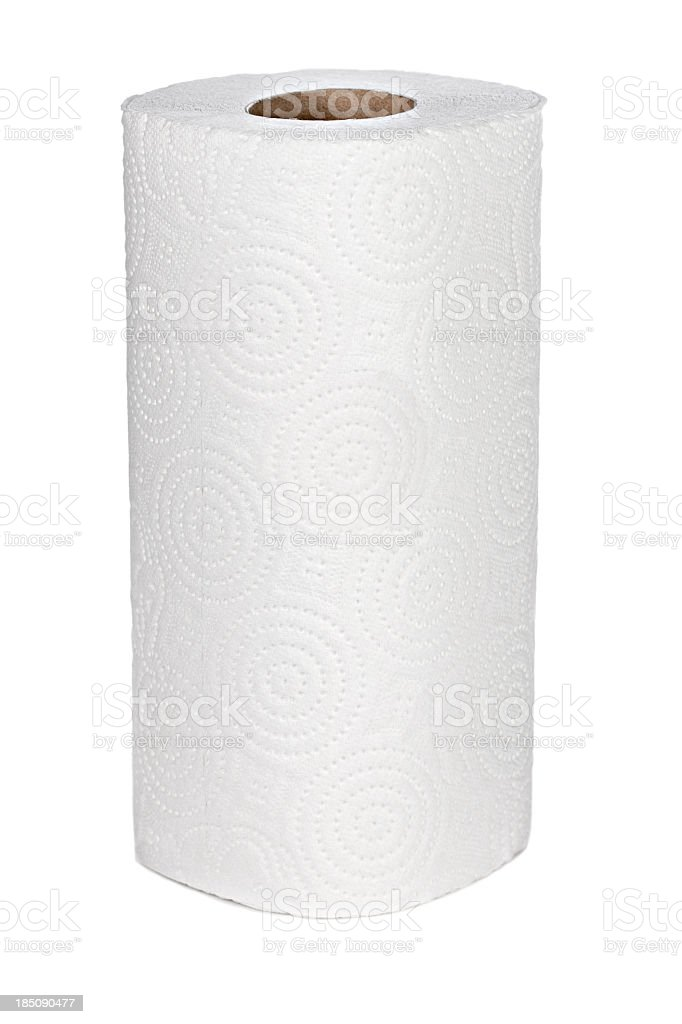 Paper towel stock photo