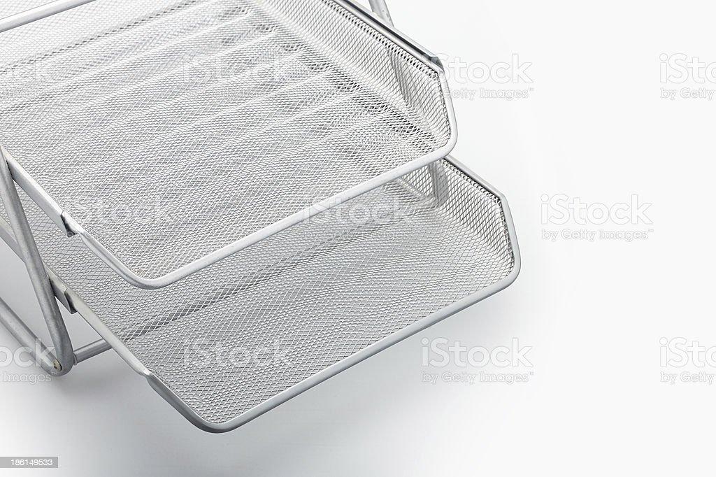 Paper tray stock photo