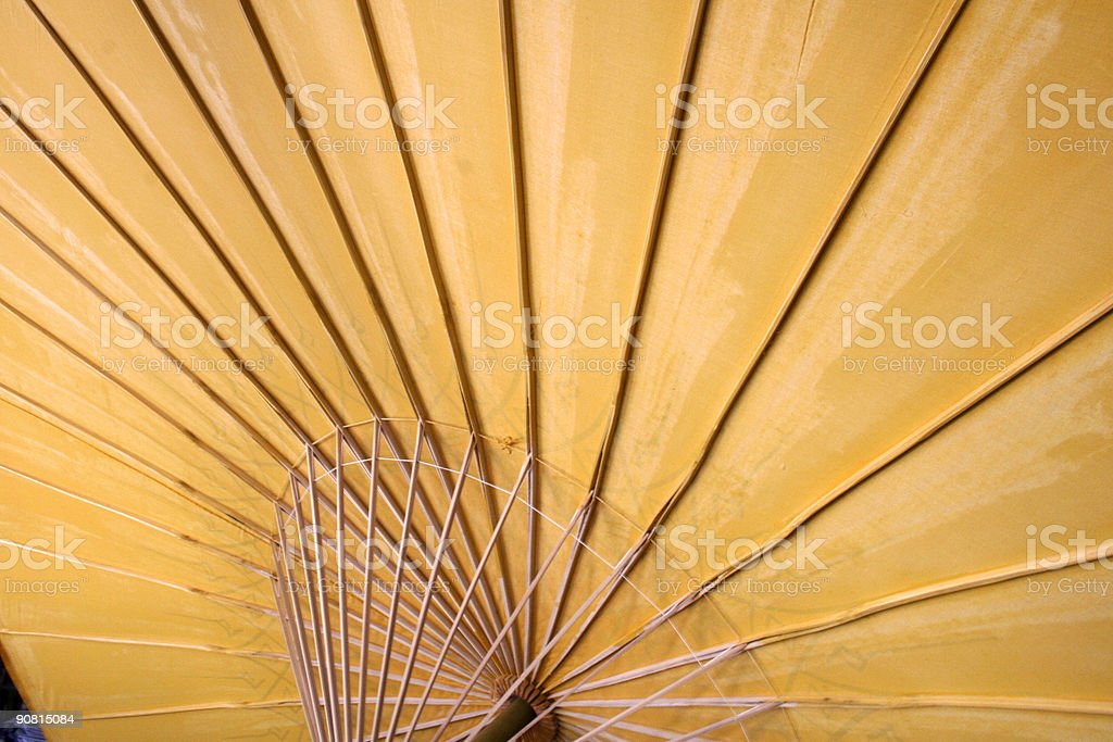 paper umbrella royalty-free stock photo