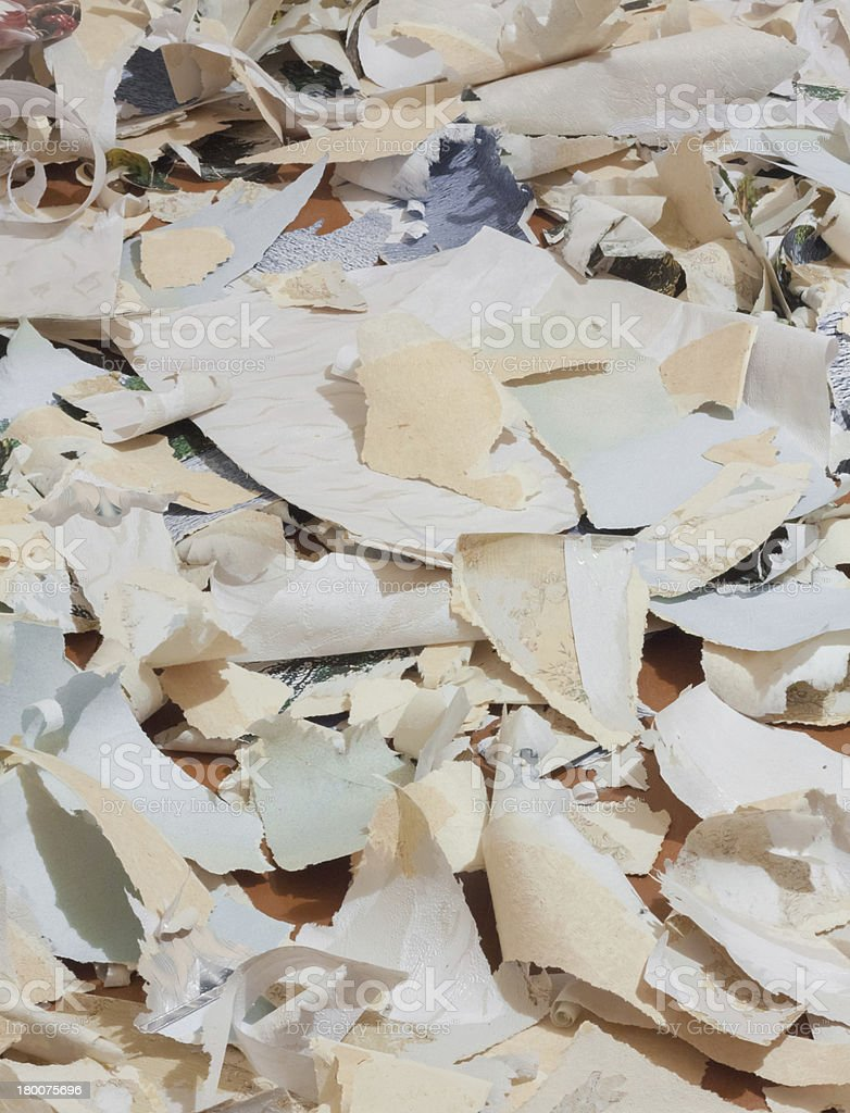 Paper Waste For Recycle royalty-free stock photo