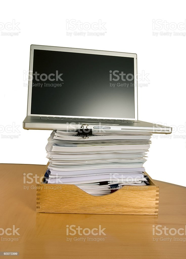 Paper Weight royalty-free stock photo