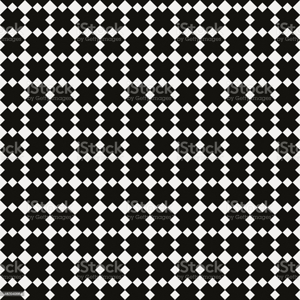 Paper with black and white geometric pattern stock photo